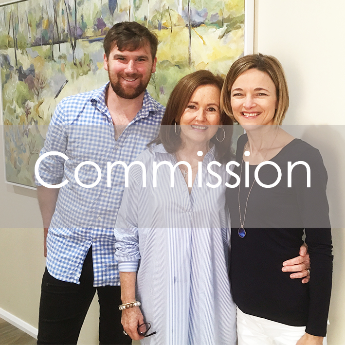Find out how Bobbie P Gallery can help out with a commissioned artwork