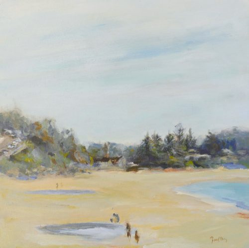 after the rain, artist robyn pedley, original art, bobbie p gallery
