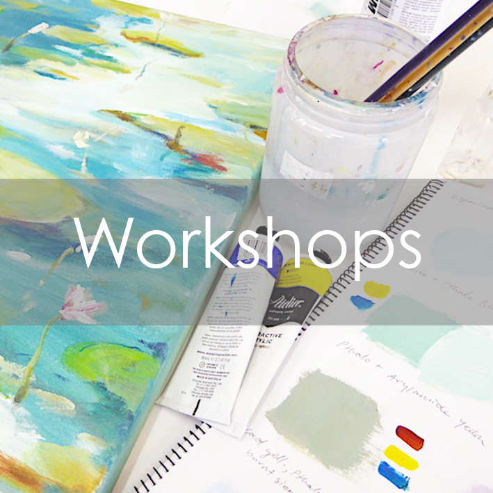 Get creative with a fun and inspirational workshop at Bobbie P Gallery